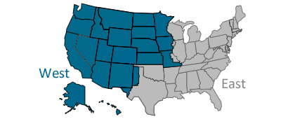 Tricare Regions Map TRICARE West Region